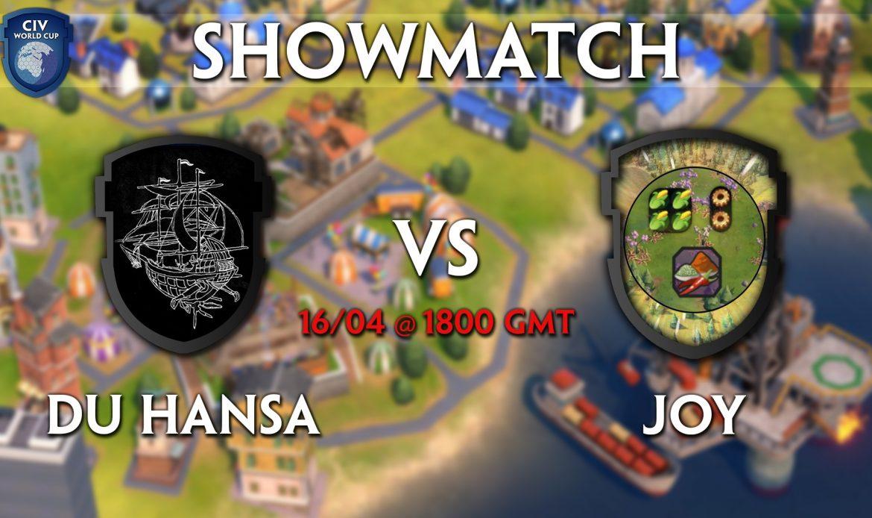Du Hansa vs Joy – Showmatch