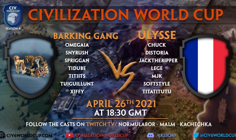 Ulysse vs Barking Gang – Finals – Game 2