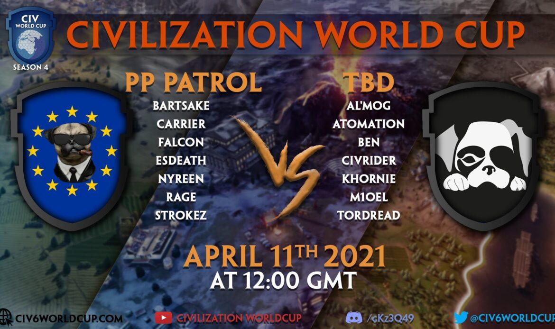 PP Patrol vs TBD – Week 8 – Game 2